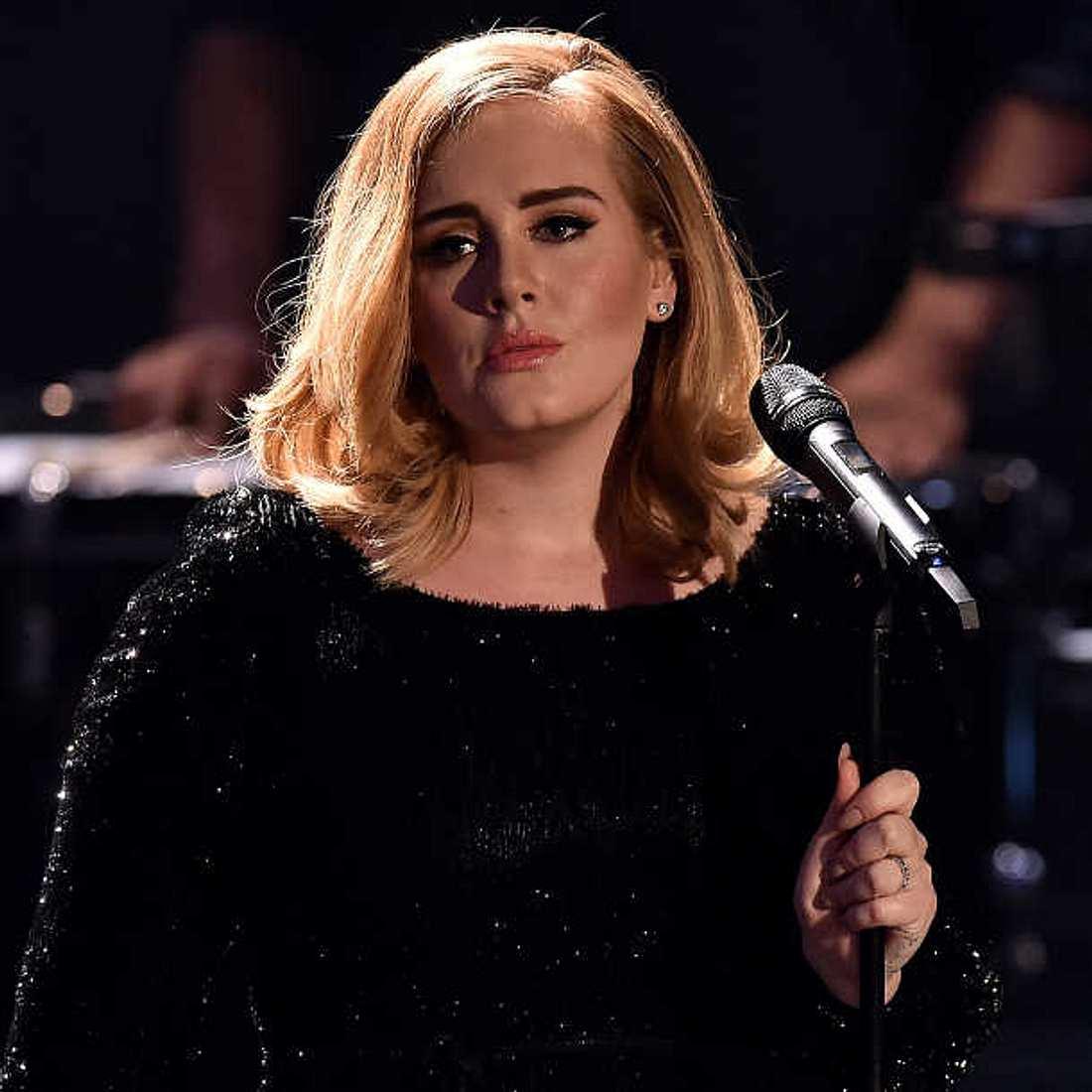 Adeles alte Frisur