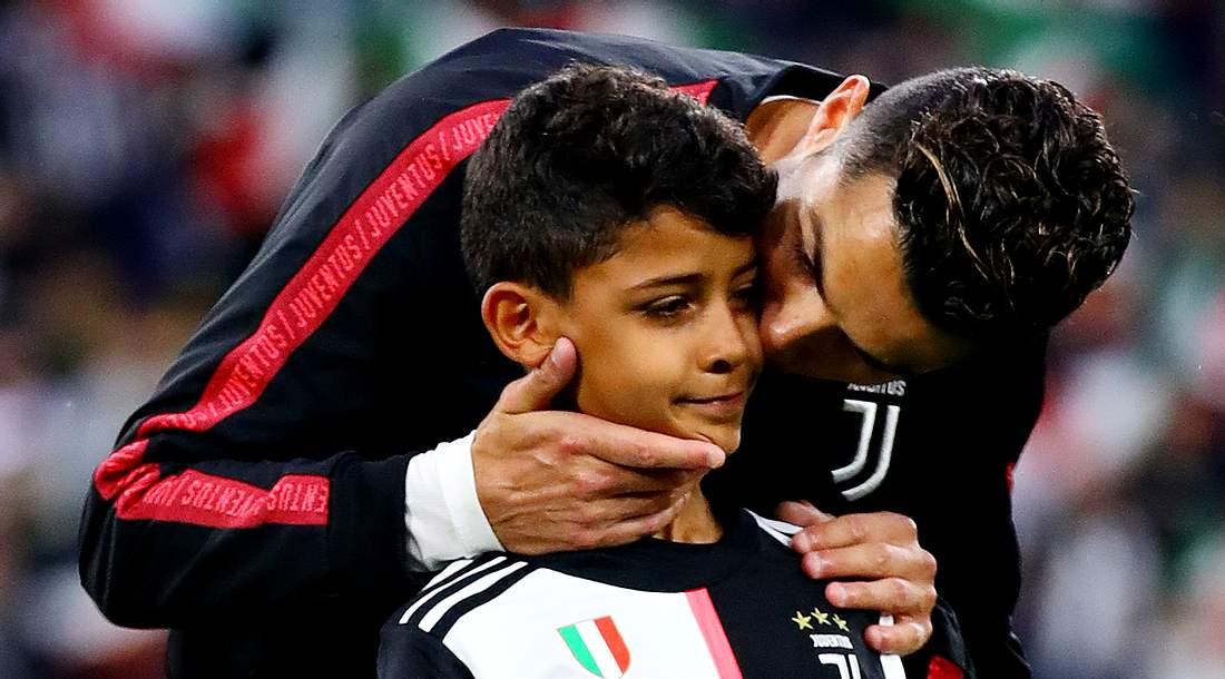 Cristiano Ronaldo und sein Sohn