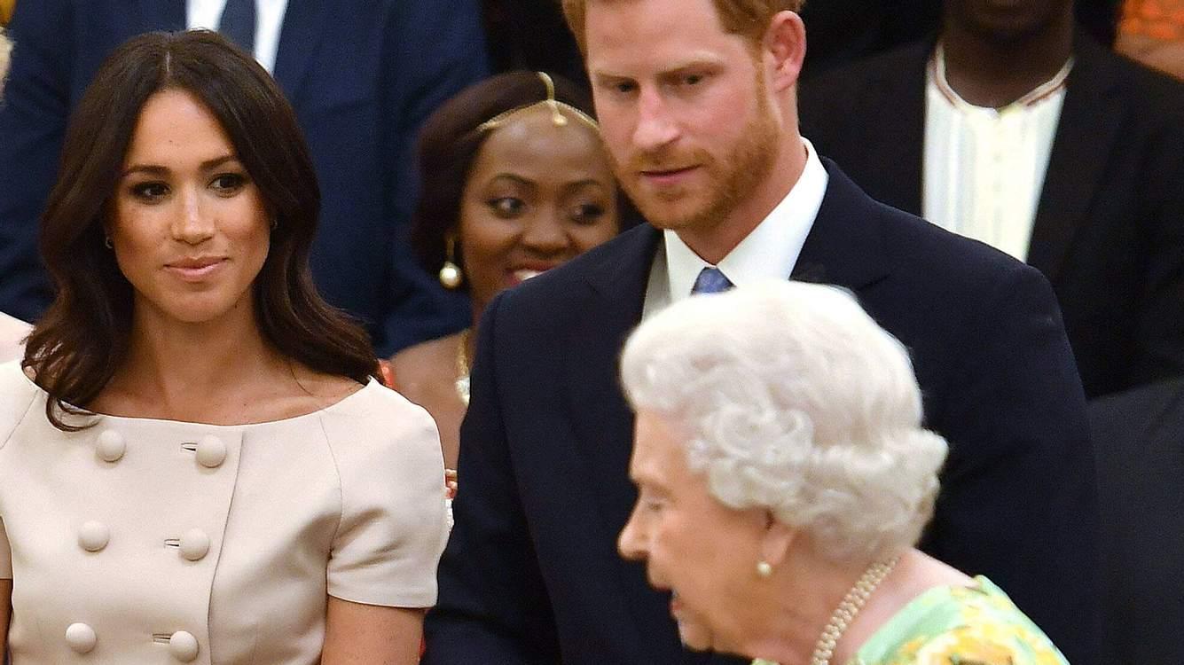 Queen Meghan und Harry