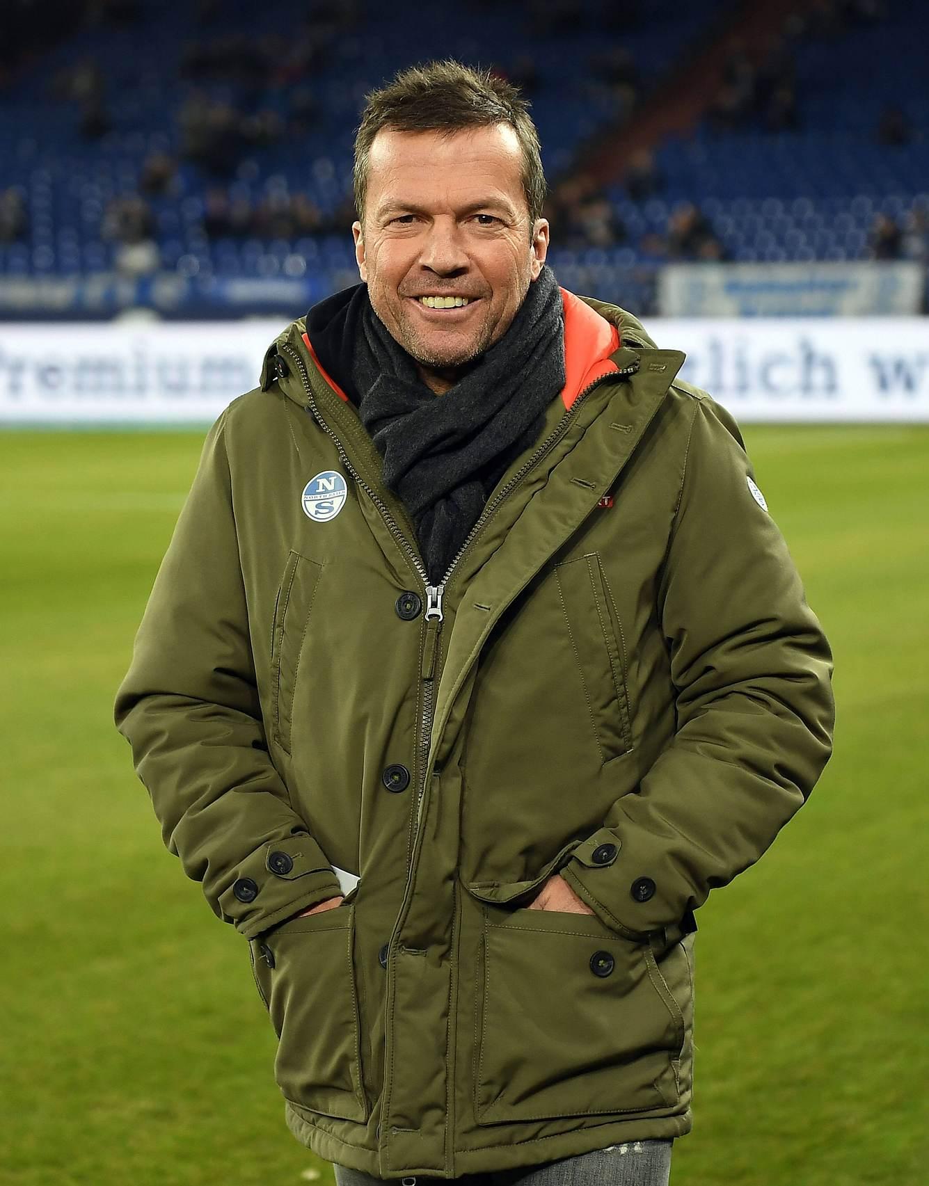 Lothar Matthäus im Baby-Glück