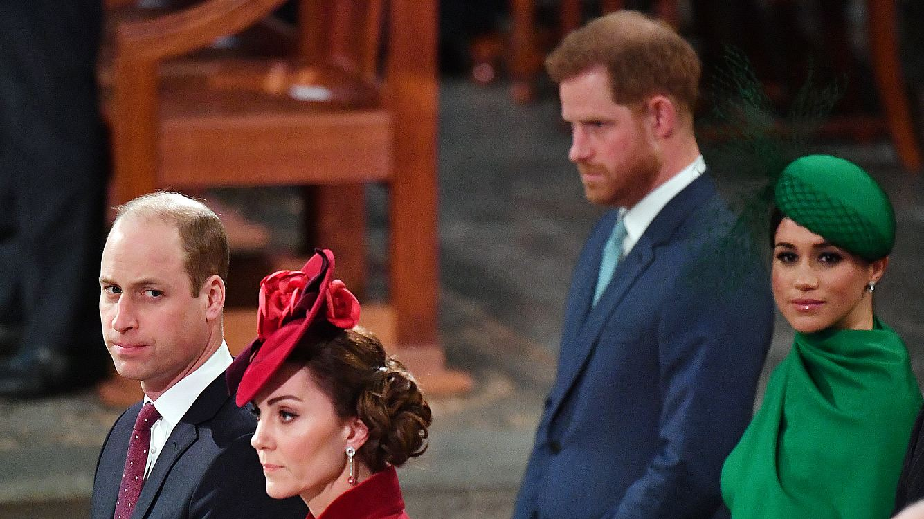 Kate, William, Harry und Meghan