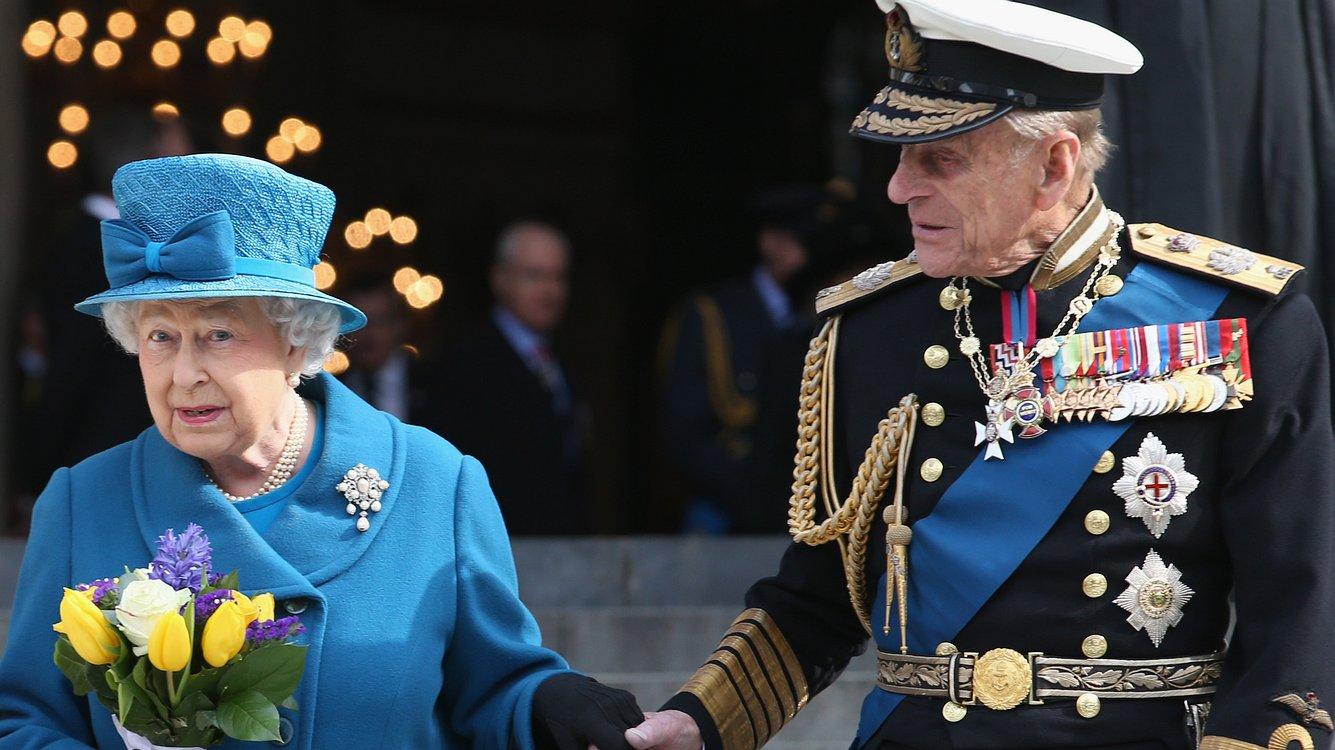 Queen und Prinz Philip