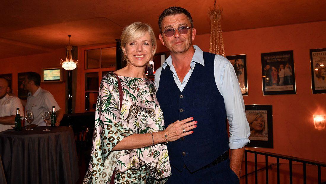 Hans Sigl und Frau