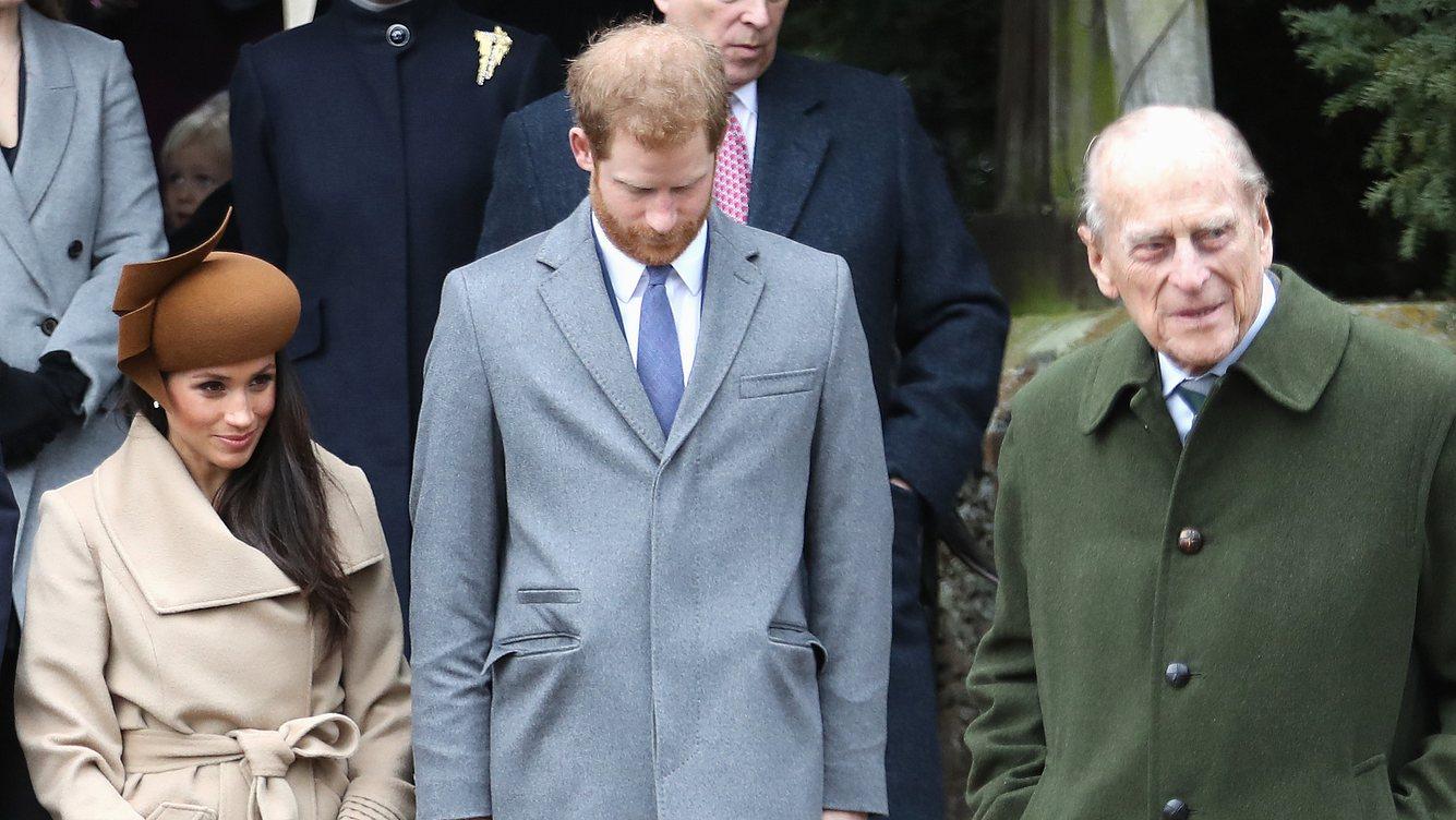 Herzogin Meghan und Prinz Philip