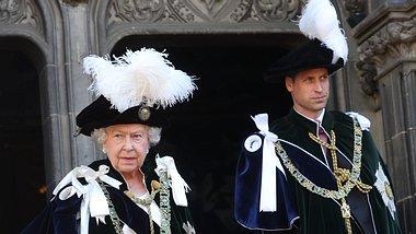 William und die Queen - Foto: Getty Images
