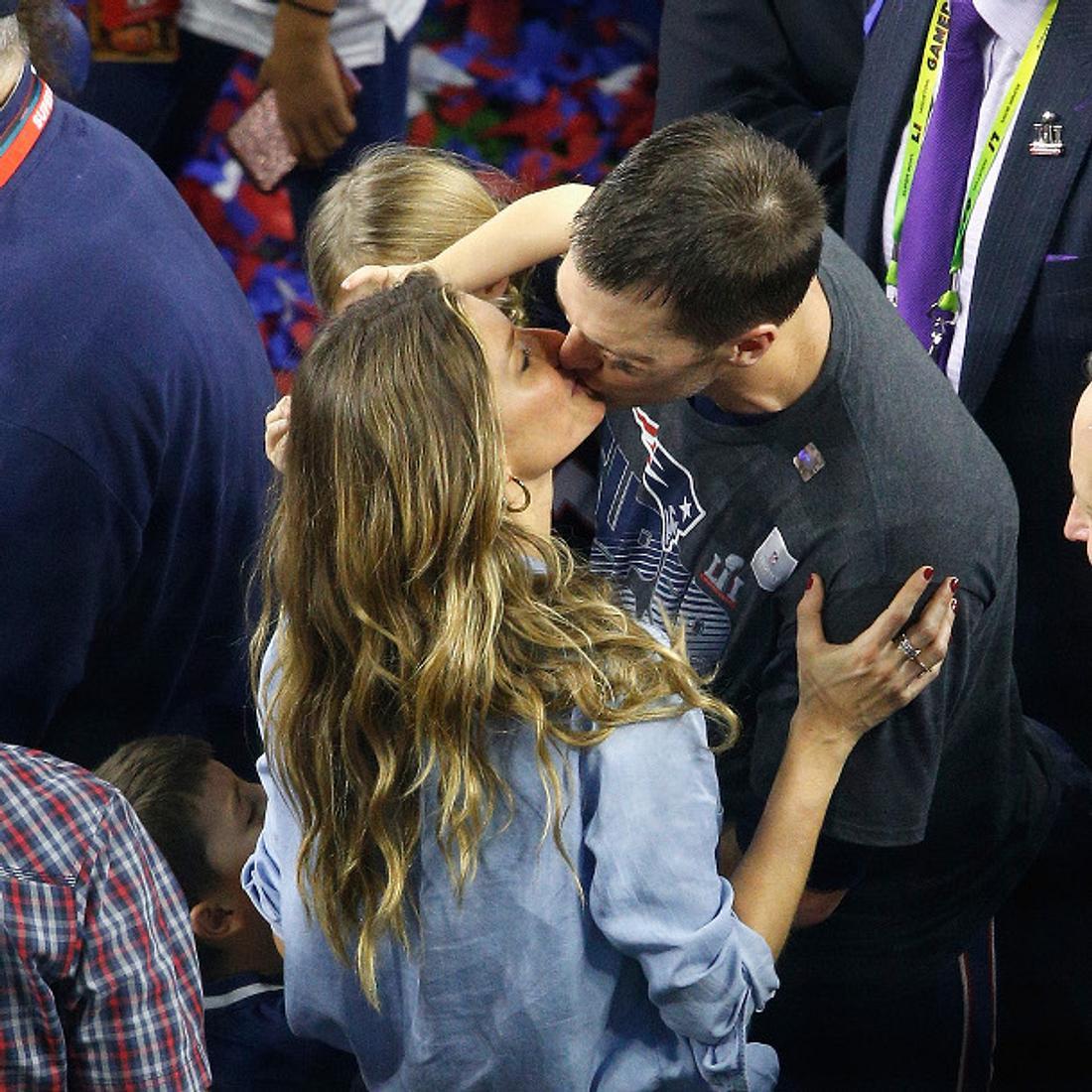 Gisele Bündchen und Tom Brady feiern den glorreichen Super Bowl-Sieg