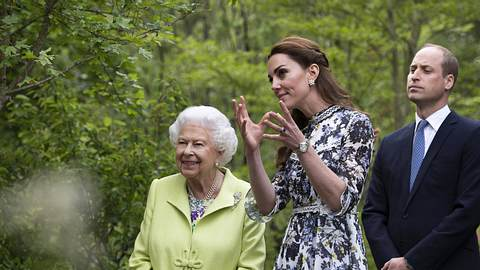 Kate und Queen - Foto: imago images / i Images