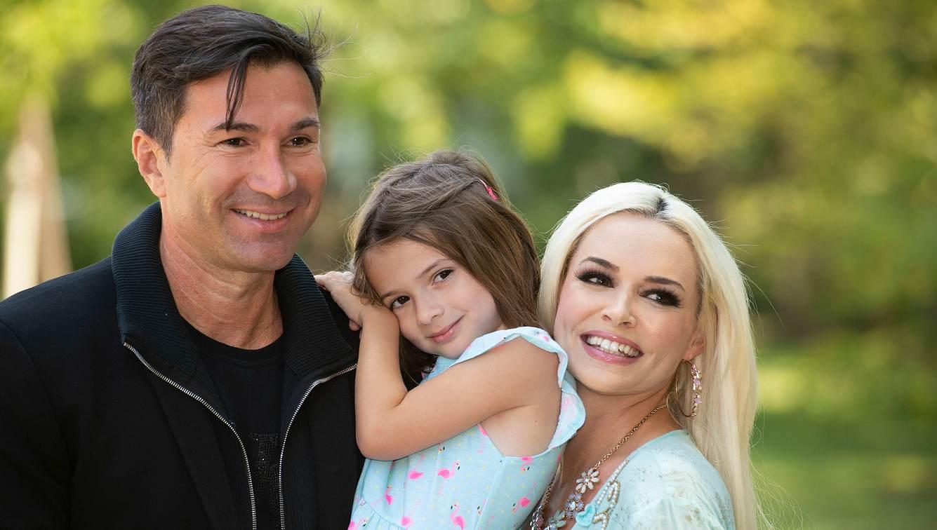 Daniela Katzenberger, Lucas Cordalis und Sophia