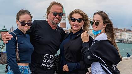 Shania, Robert, Carmen und Davina Geiss - Foto: imago