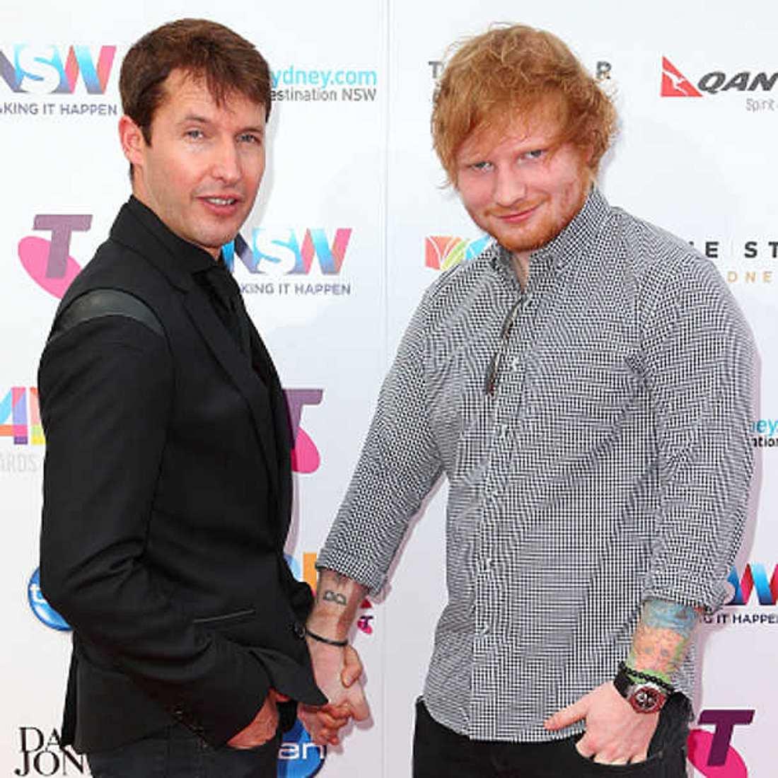 Ed Sheeran James Blunt Verlobung