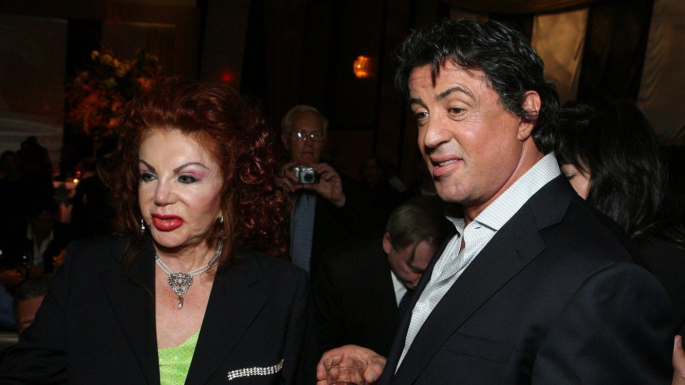 Jackie Stallone und Sylvester Stallone