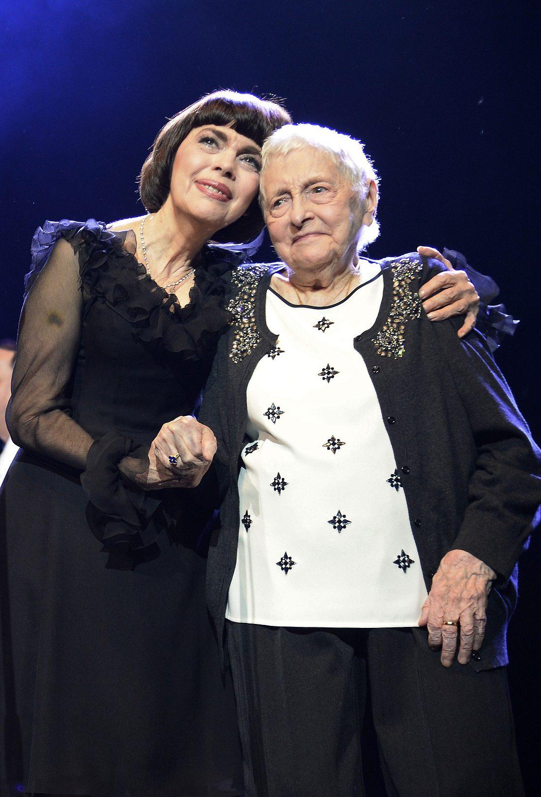 Mireille Mathieu und ihre Mutter