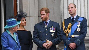Queen; William, Harry - Foto: Getty Images