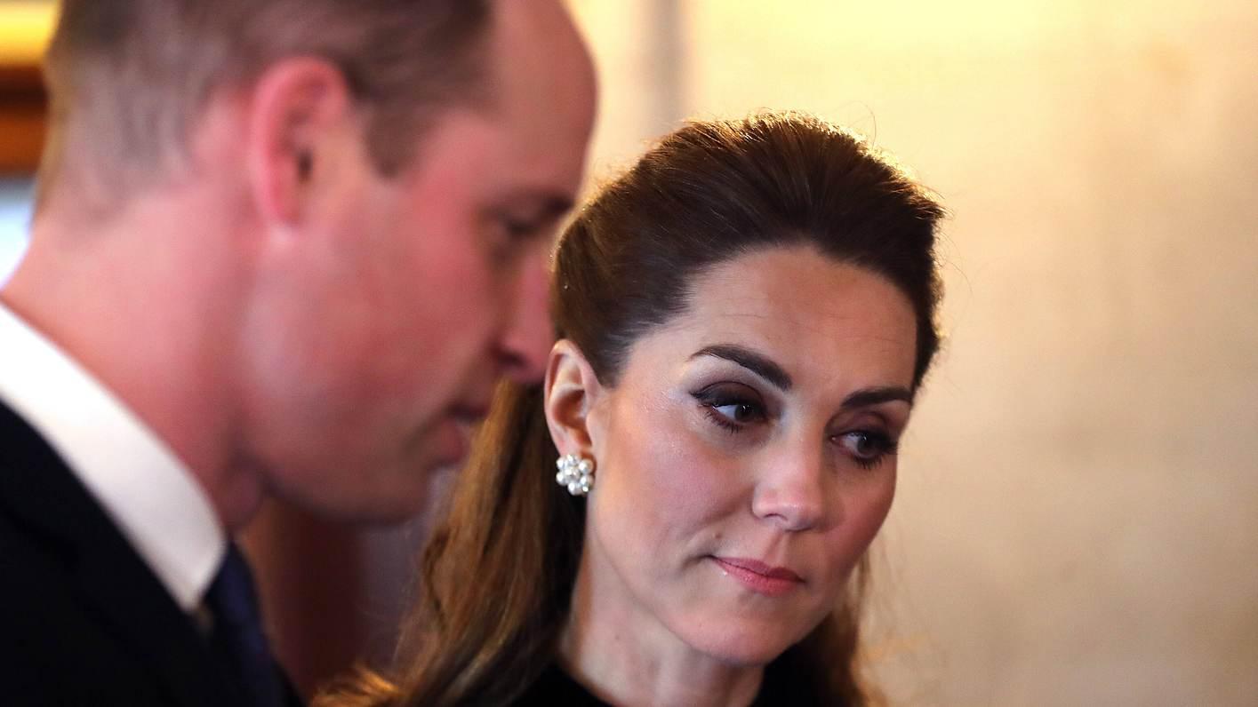 Herzogin Kate und Prinz Philip