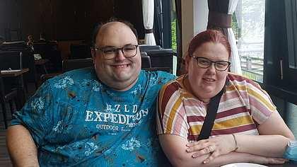 Ingo von Schwiegertochter gesucht und seine Verlobte Annika - Foto: Facebook/Ingo und Annika Fanpage