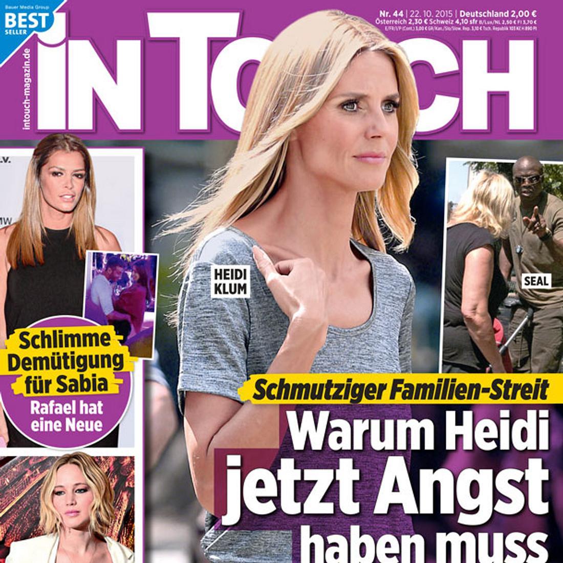 InTouch: Schmutziger Familien-Streit bei Heidi Klum