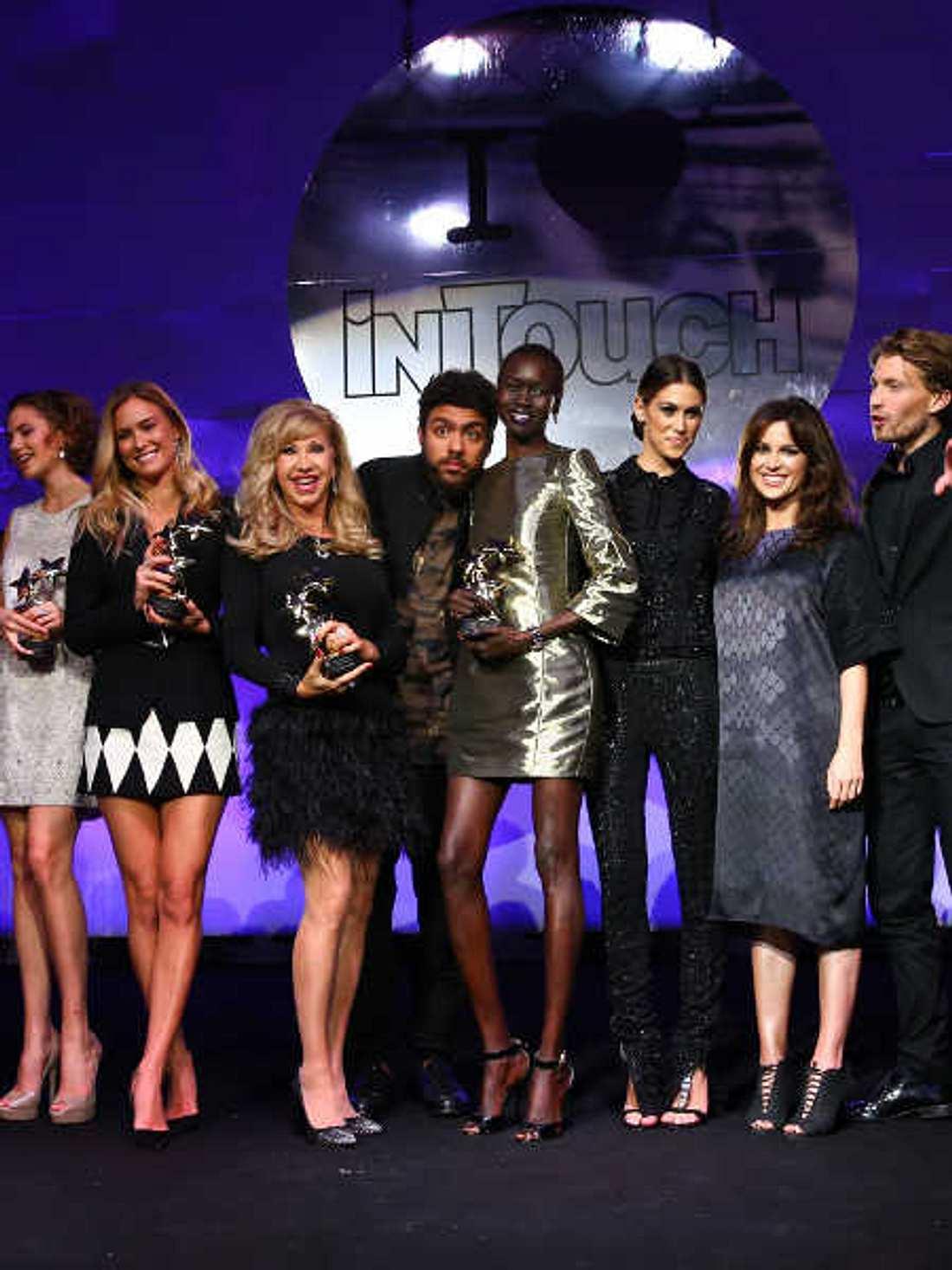 In Düsseldorf wurden die InTouch Awards verliehen.