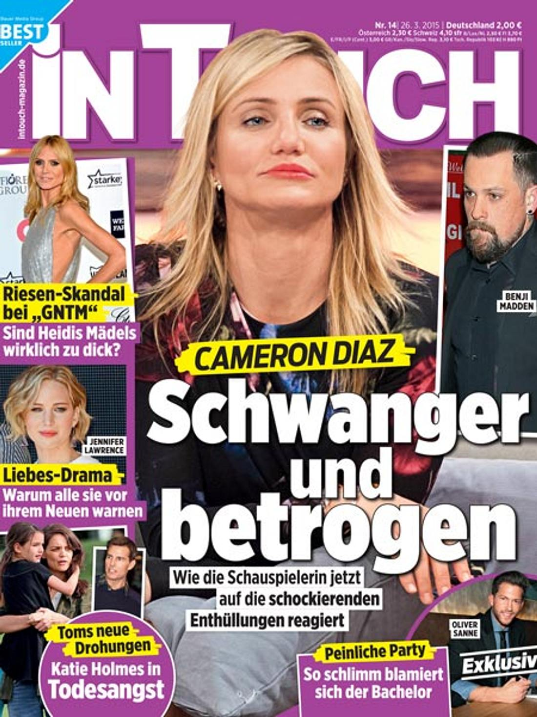 InTouch: Cameron Diaz - schwanger und betrogen