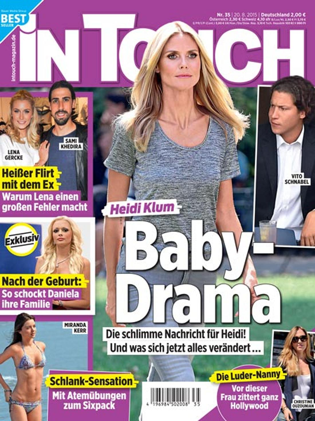 InTouch: Baby-Drama bei Heidi Klum