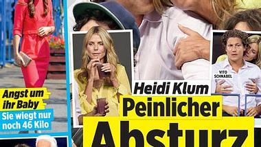 InTouch: Heidi Klums peinlicher Absturz