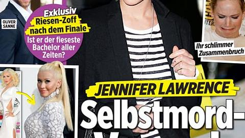 InTouch: Jennifer Lawrence - Selbstmord-Versuch!