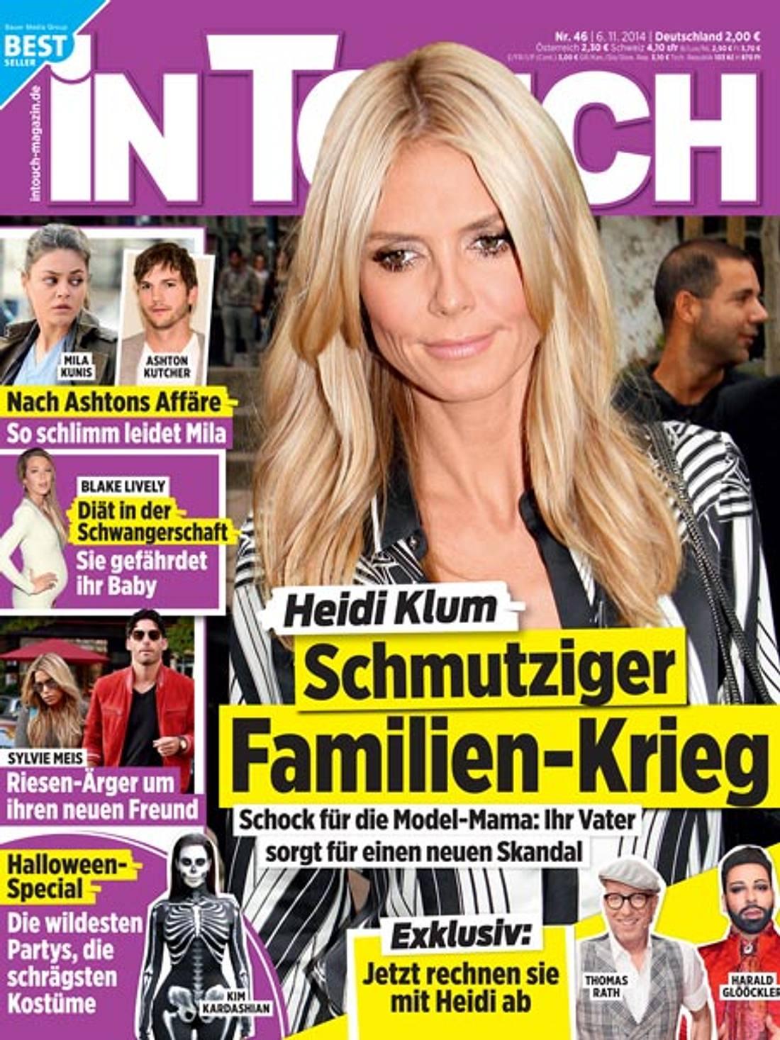 InTouch: Heidi Klum - schmutziger Familien-Krieg