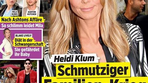 Heidi Klum - schmutziger Familien-Krieg