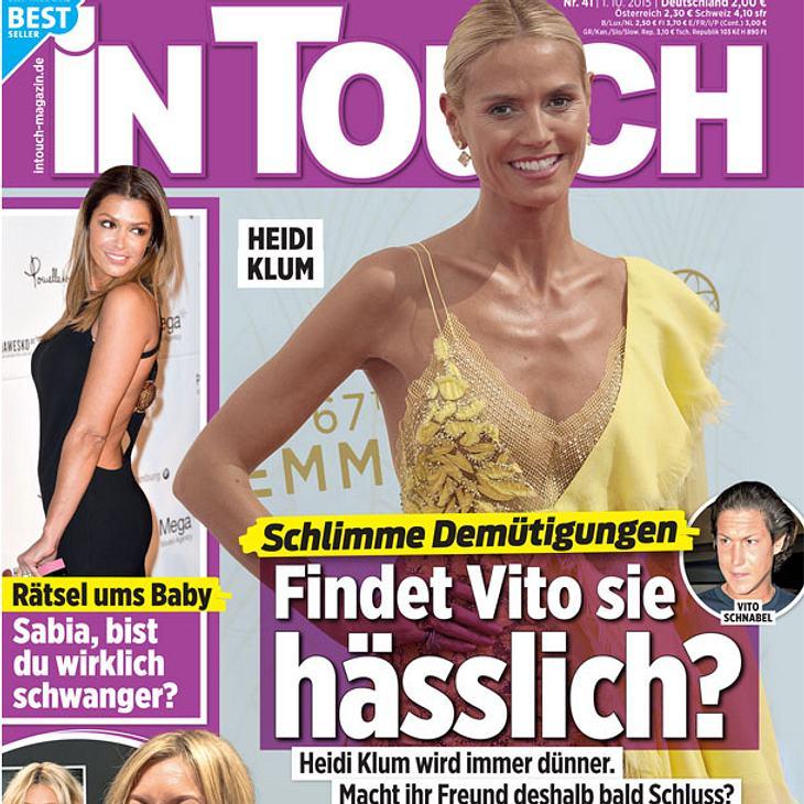 InTouch: Heidi Klum wird immer dünner, findet Vito sie hässlich?