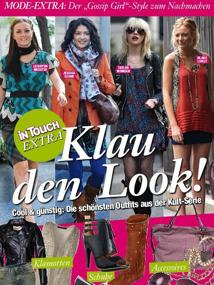 """""""Gossip Girl"""" - Mode Special: Ab Donnerstag in der neuen InTouch"""