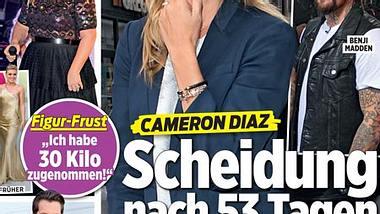 InTouch: Cameron Diaz - Scheidung nach 53 Tagen