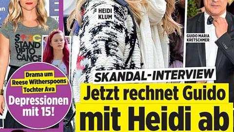 InTouch: Heidi Klum - Mega-Zoff mit Guido Maria Kretschmer