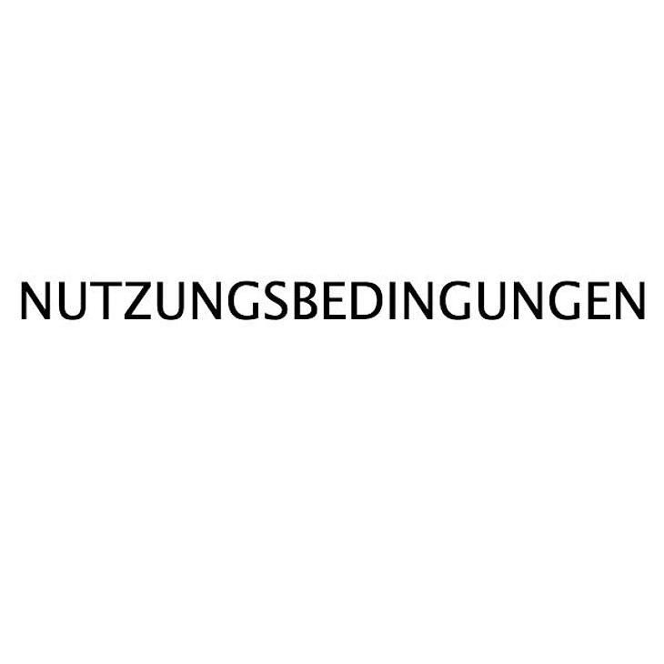 NUTZUNGSBEDINGUNGEN