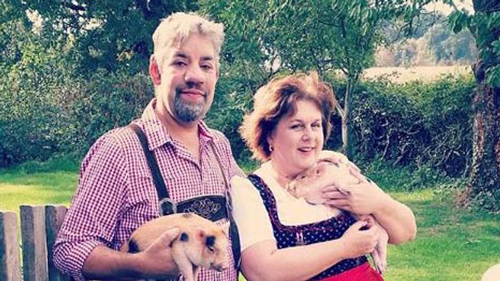 Bauer Uwe und Iris Abel: Tränenreiches Baby-Drama
