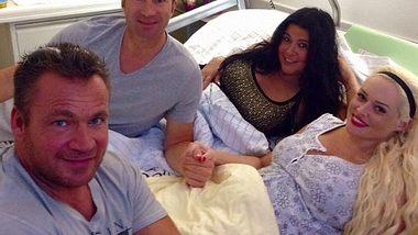 Die Familie Katzenberger/Klein wächst weiter! - Foto: Facebook / Daniela Katzenberger