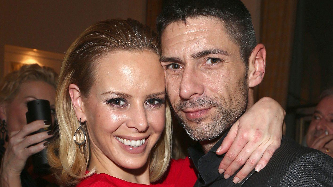 Isabel Edvardsson und ihr Mann Marcus Weiß