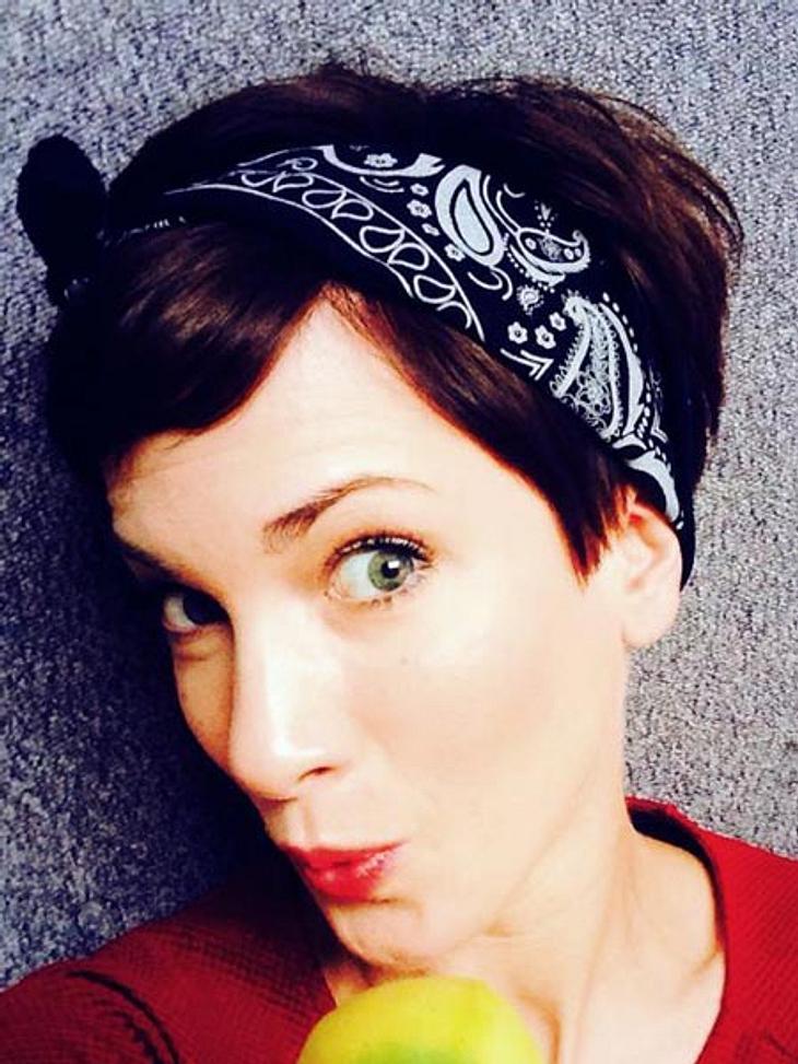 Isabell Horn hat eine neue Frisur