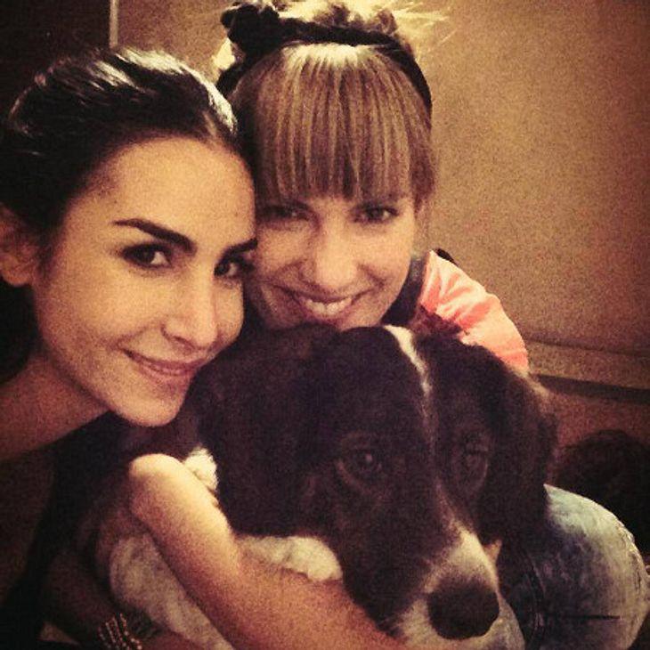 Alle drei weg: Isabell Horn, Sila Sahin und Hund Bolle