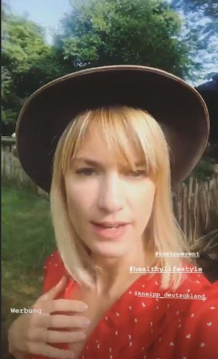 Isabell Horn ist jetzt blond!