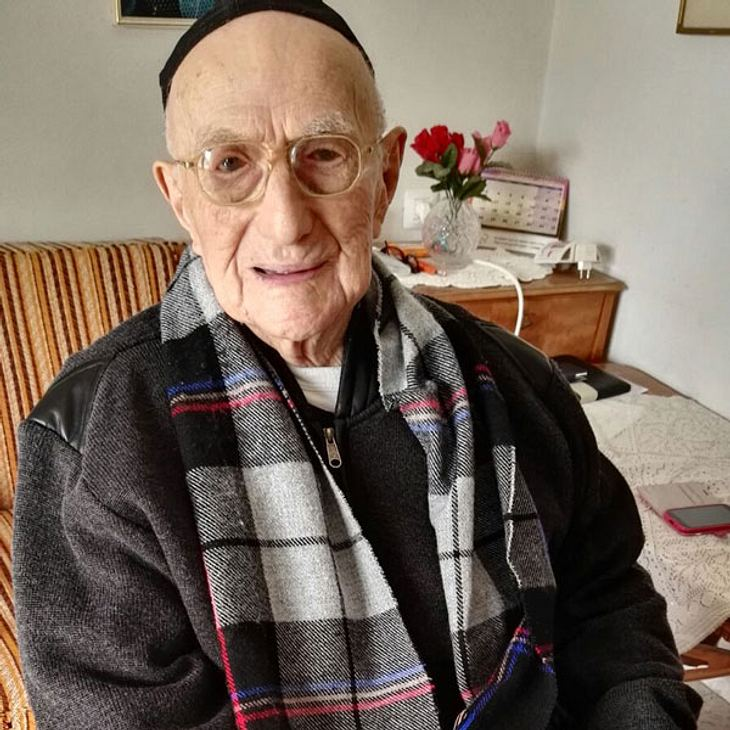 Israel Kristal: Der älteste Mann der Welt ist gestorben