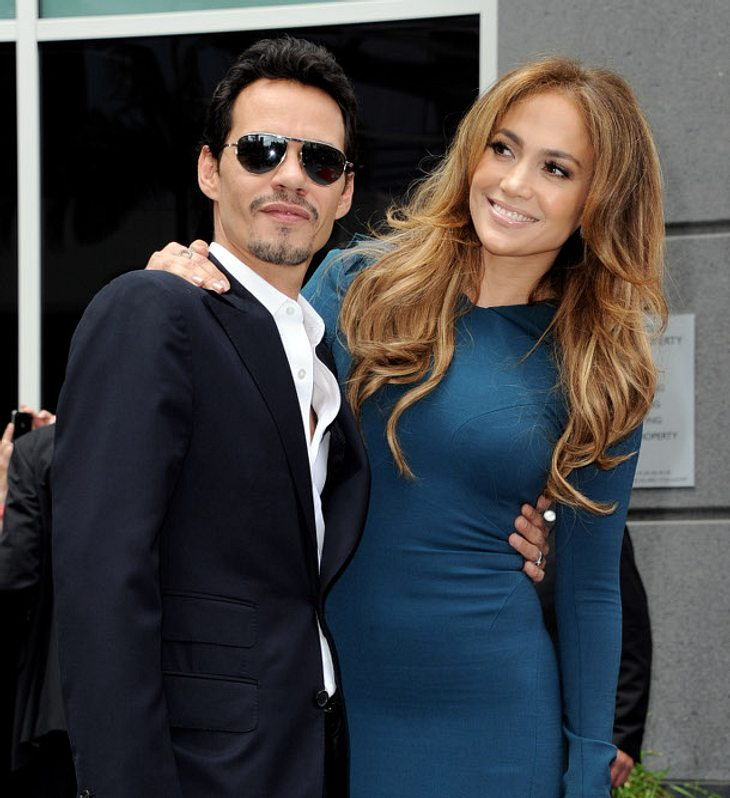 Jennifer Lopez und Marc Anthony im Jahr 2011