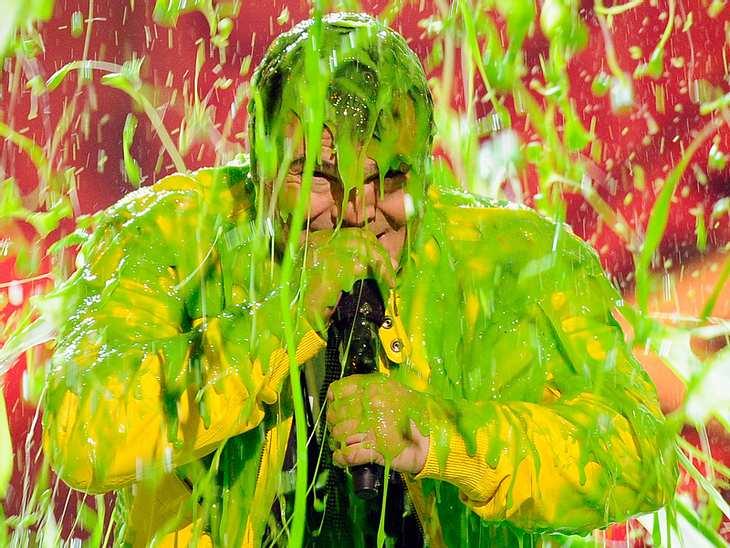 Kids Choice AwardsAm Wochenende hieß es wieder einmal: Achtung, Schleim! Die amerikanischen Kinder haben wie jedes Jahr ihre Lieblings-Stars gewählt. Wer aber eher unbeliebt bei den lieben Kleinen ist, bekommt eine ordentliche, grüne Schlei