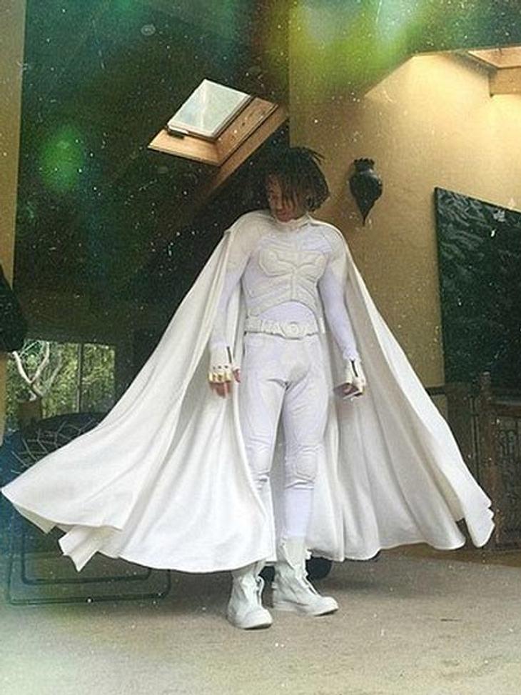 Jaden Smith geht als weißer Batman zur Prom - Witzig oder stillos?