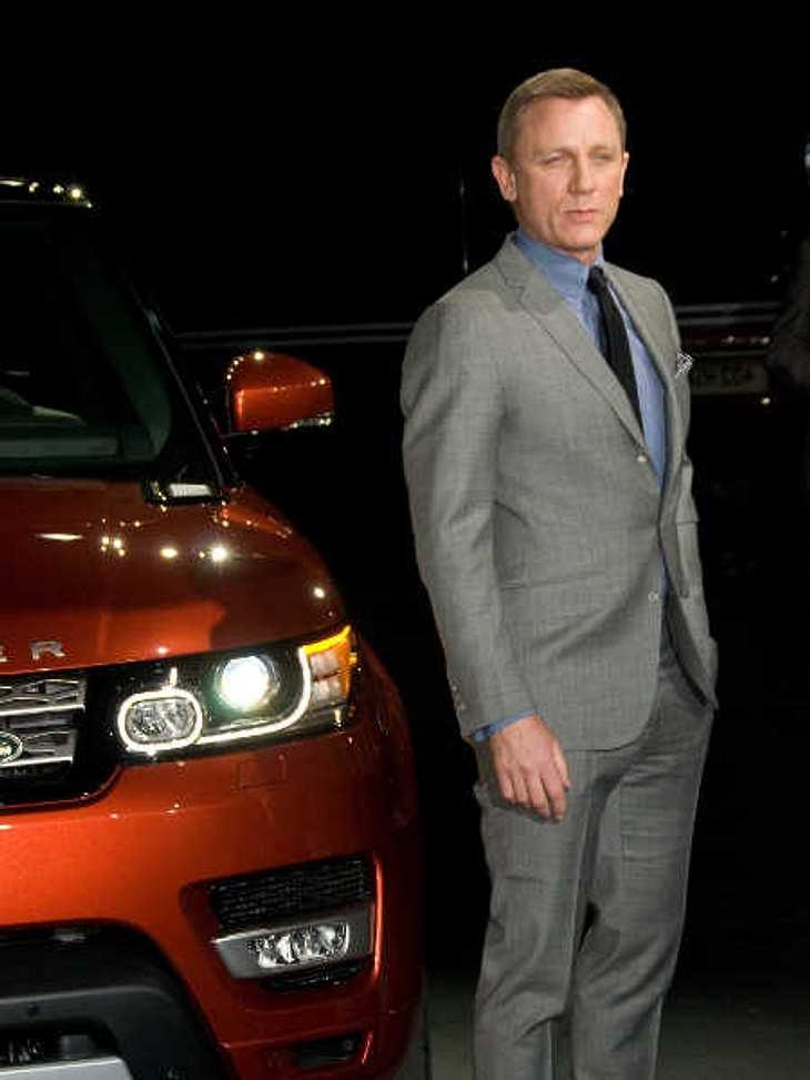 Die Autos von James Bond wurden geklaut.