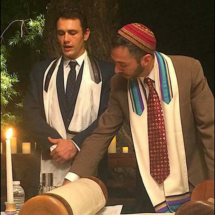 James Franco Bar Mitzwa