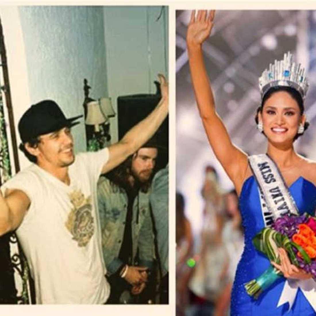 James Franco Miss Universe Flirt