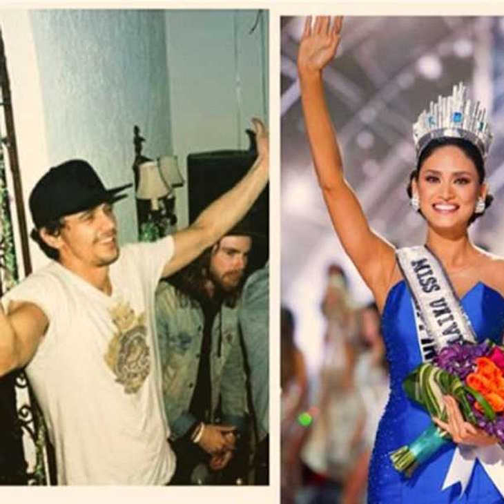 James Franco Miss Universe Flirt