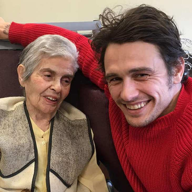 James Franco Oma Mitzie