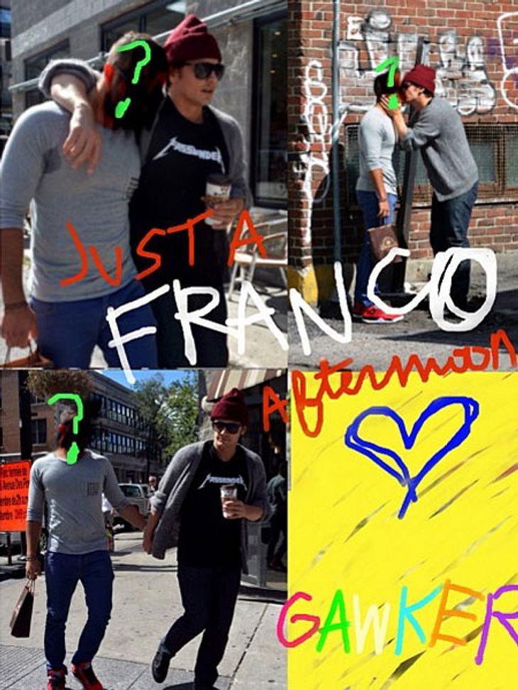 James Franco knutscht mit einem Mann