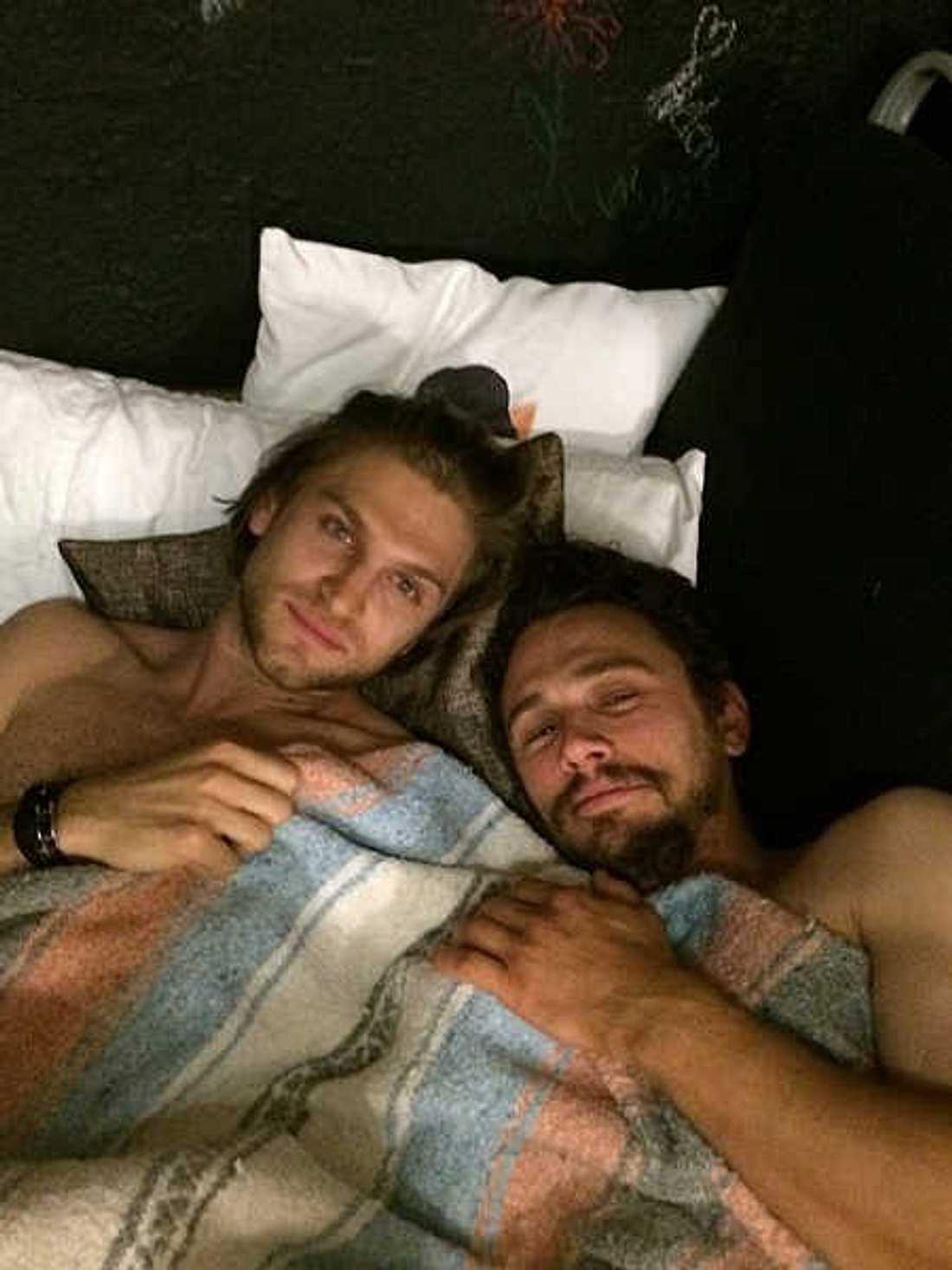 James Franco im Bett mit Keegan Allen!