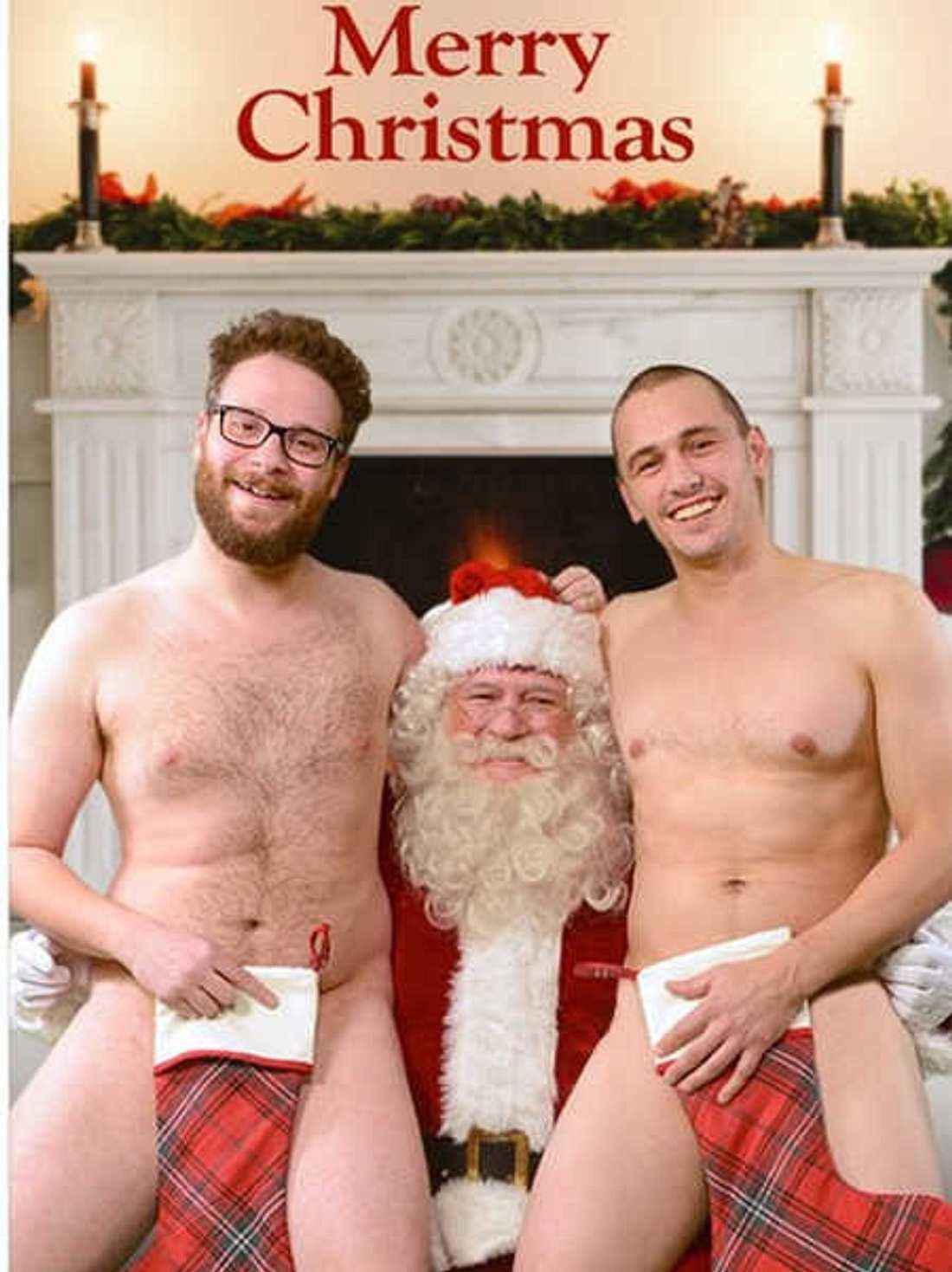 James Franco & Seth Rogen: Nackte Grüße zu Weihnachten
